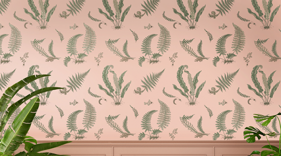 Ferns-Blush-wallpaper-signature-II